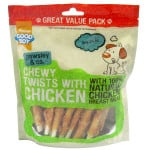 Good Boy Pawsley & Co Chewy Twists With Chicken