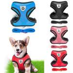 Breathable Small Dog Collar/Harness And Leash Set For Chihuahua Pug Bulldog