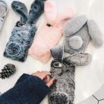 Warm Fur Rabbit Ipod Case