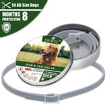 Waterproof Long Lasting Anti Flea Ticks Insect Mosquitoes With 8 Months Protection Dog Collar