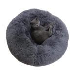 Round & Raised Cat Marshmallow Bed