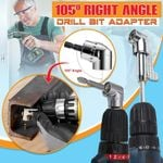 105 Degree Right Angle Drill Bit Adapter