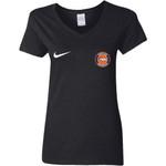 Nike Denver Broncos Nfl Football Women V-Neck T-Shirt