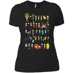 Ricky And Morty The Many Mortys Women T-Shirt