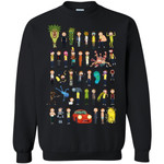 Ricky And Morty The Many Mortys Unisex Crewneck Pullover Sweatshirt