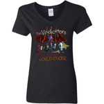 Rick And Morty The Vindicators Women V-Neck T-Shirt