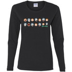 Rick And Morty Expressions Women Long Sleeve Shirt