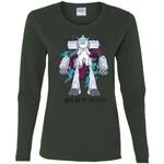 Rick And Morty Snuffles Funny Women Long Sleeve Shirt