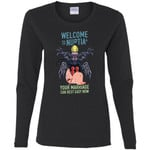 Rick And Morty Welcome To Nuptia Women Long Sleeve Shirt