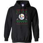 Pittsburgh Steelers Logo Football Teams Ugly Christmas Sweater Men Pullover Hoodie