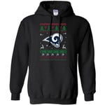 Los Angeles Rams Logo Football Teams Ugly Christmas Sweater Men Pullover Hoodie