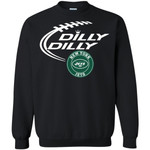 Dilly Dilly New York Jets Nfl Football Unisex Crewneck Pullover Sweatshirt
