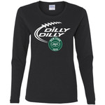 Dilly Dilly New York Jets Nfl Football Women Long Sleeve Shirt