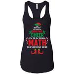 Christmas Cheer Is Teaching Math Women Tank