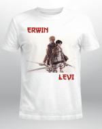 Attack on Titan T-Shirt | Erwin x Levi