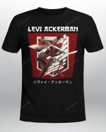 Attack on Titan T-Shirt | Levi Ackerman
