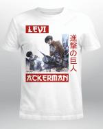 Attack on Titan T-Shirt   Child x Adult Levi