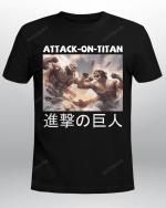 Attack on Titan T-Shirt   Eren x Reiner Attack