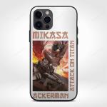 Attack on Titan Phone Case | Mikasa Ackerman