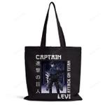 Attack on Titan Tote Bag | Captain Levi