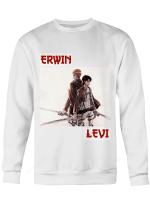 Attack on Titan Sweatshirt | Erwin x Levi