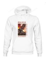 Attack on Titan Hoodie | Mikasa Ackerman