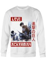 Attack on Titan Sweatshirt | Child x Adult Levi