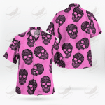 Pink Skull October Halloween Christmas Summer