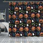 Crockcool Halloween Trick Or Treat Shower Curtain