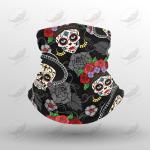 Crockcool Halloween Day Of The Dead Face Masks Bandana