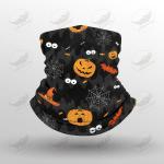 Crockcool Halloween Pumpkins Face Masks Bandana