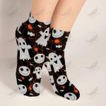 Crockcool Halloween Pumpkin Spooky Socks