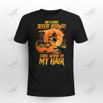 Halloween On A Dark Desert Highway Cool Wind In My Hair Crockcool T-shirt