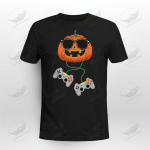 Halloween Jack O Lantern Gamer Video Game Crockcool T-shirt Hoodie