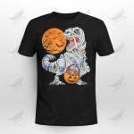 Halloween Zombie Dinosaur Pumpkin Crockcool Hoodie Sweater