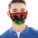 Wales Dragon Style Mouth Mask K4