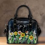 (Custom) Wales Shoulder Handbag Daffodil Personal Signature A02