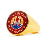 Tahiti Gold/Silver Ring | Special Custom Design