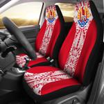 Tahiti Polynesian Car Seat Covers | Custom Design