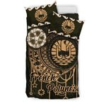French Polynesia Bedding Set, Polynesian Duvet Cover and Two Pillow Cases - Love The World