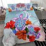 Turtle Hibiscus Bedding Set K5 - rugbylife.co