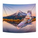 New Zealand Kea Bird Mount Taranaki Tapestry K4 - 1st New Zealand