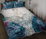 Whale Tail Manaia New Zealand Quilt Bed Set K5 - rugbylife