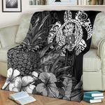Polynesian Turtle Pineapple Blanket K5 - 1st New Zealand