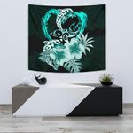 Hibiscus Tapestry I Love Dophins TH5 - 1st New Zealand