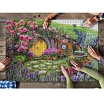 New Zealand Roses And Lavender, Hobbiton Puzzle K5 - 1st New Zealand