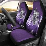 Maori Manaia The Blue Sea Car Seat Cover, Purple K5 - 1st New Zealand