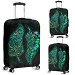 New Zealand Silver Fern Couple Luggage Covers Paua Shell K4 - 1st New Zealand
