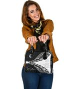 New Zealand Shoulder Handbag Silver Fern Manaia Maori TH5 - 1st New Zealand