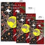 New Zealand Australia Area Rug - Maori Aboriginal K4 - 1st New Zealand
